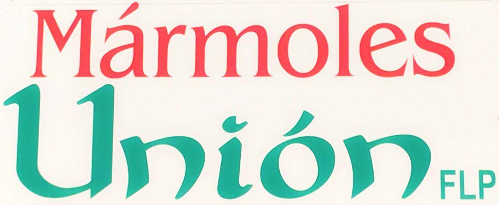 Marmoles Union Logo