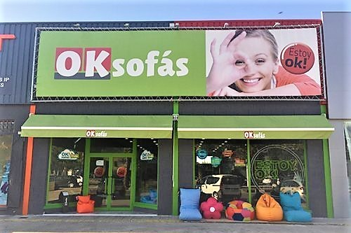 OK Sofas Shop Front Denia