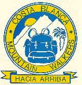 Costa Blanca Mountain Walkers Logo