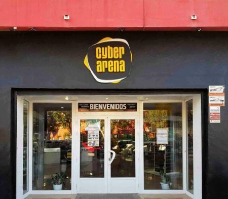 Cyber Arena Front