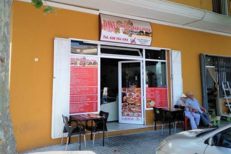 Dani Kebab Shop Front