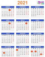 Días Feriadas 2021